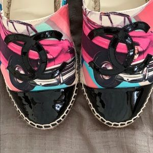 CHANEL Shoes - CHANEL Espadrilles.